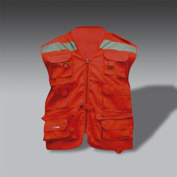 chaleco para la seguridad industrial SE 013 chaleco de seguridad industrial modelo SE 013