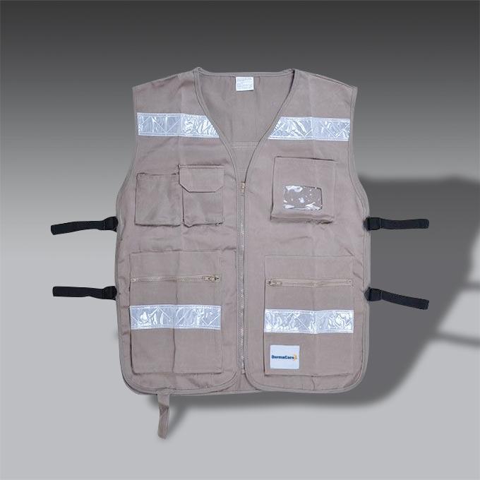 chaleco para la seguridad industrial SE RG 05R chaleco de seguridad industrial modelo SE RG 05R