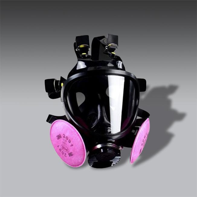 respirador cara completa para la seguridad industrial modelo MM 7800 respirador cara completa de seguridad industrial modelo MM 7800