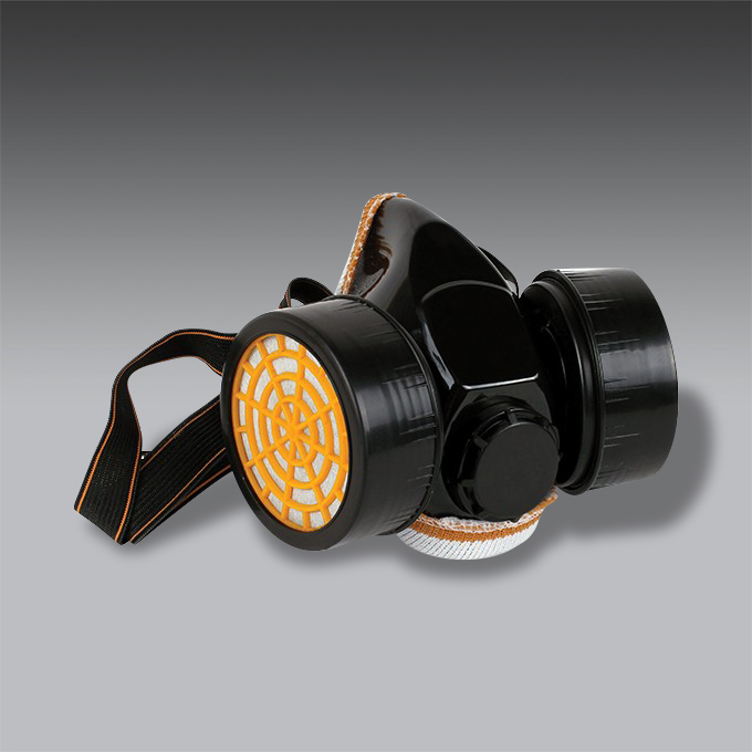 respirador media cara para la seguridad industrial modelo HY 4200 respirador media cara de seguridad industrial modelo HY 4200