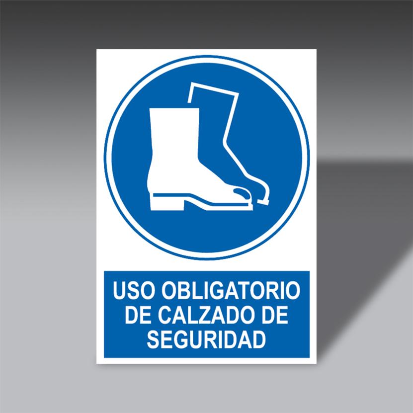 letreros obligacion para la seguridad industrial LO CAL SE letreros obligacion de seguridad industrial modelo LO CAL SE