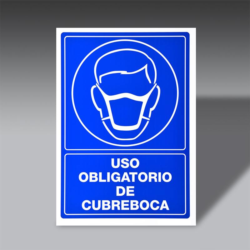 letreros obligacion para la seguridad industrial LO CU BO letreros obligacion de seguridad industrial modelo LO CU BO