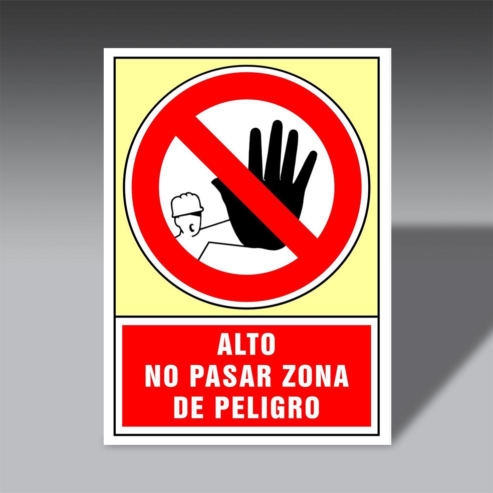 letreros prohibicion para la seguridad industrial LP AL PE letreros prohibicion de seguridad industrial modelo LP AL PE