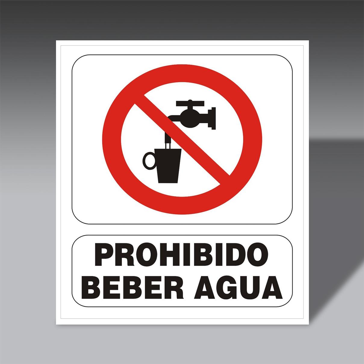 letreros prohibicion para la seguridad industrial LP BE AG letreros prohibicion de seguridad industrial modelo LP BE AG
